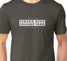 Singer Auto Salvage Yard Unisex T-Shirt
