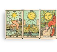 Sun/Moon/Star Tarot Metal Print