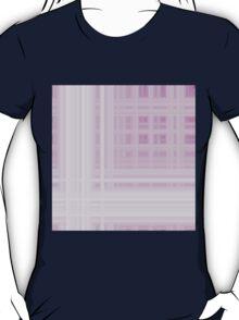 Pink-White Plaid T-Shirt