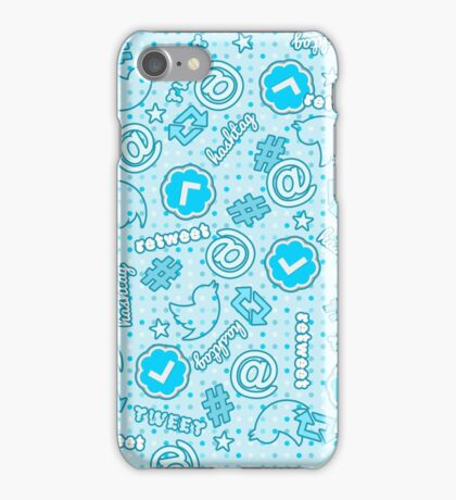 Hashtags, Retweets and Everything Else Twitter iPhone Case/Skin