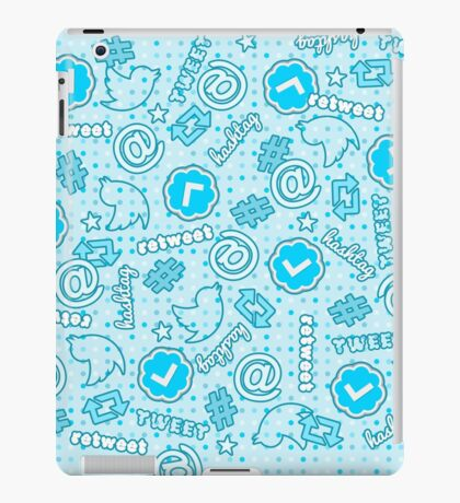 Hashtags, Retweets and Everything Else Twitter iPad Case/Skin