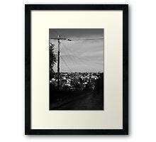 Williams Lane Framed Print