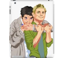 Destiel Hug iPad Case/Skin