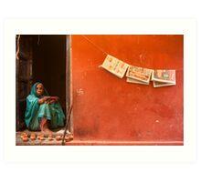 Home. Varanasi Art Print