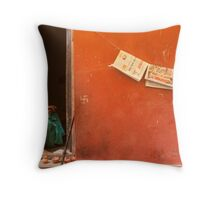 Home. Varanasi Throw Pillow