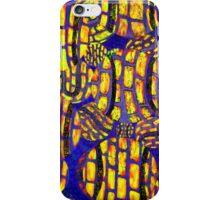 Wild colorful abstract Tennis Ball artwork iPhone Case/Skin