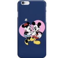 minnie and mickey mouse iPhone Case/Skin