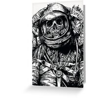 Dead Astronaut Greeting Card