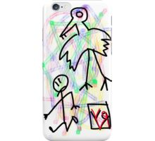 """Stop Following Me!"" by Richard F. Yates iPhone Case/Skin"