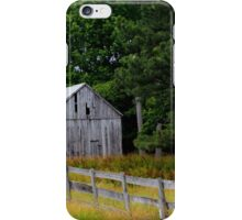 Down the Fence iPhone Case/Skin