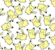 Lots and Lots of Pikachu by InvalidDomain