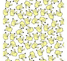 Lots and Lots of Pikachu Photographic Print