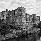 Newark Castle. by Ray Clarke