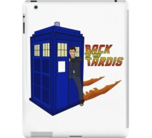 Back To The Tardis iPad Case/Skin