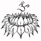 Om Lotus by whittyart