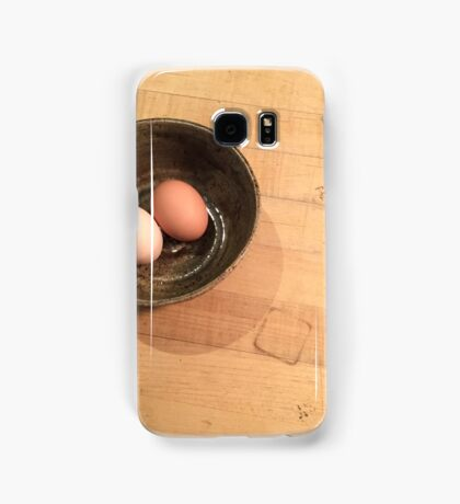 two eggs Samsung Galaxy Case/Skin