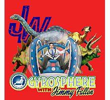 JW Gyrosphere w Jimmy  Photographic Print