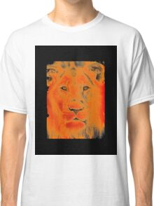 lion face Classic T-Shirt