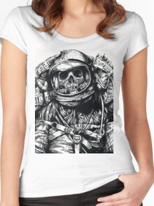 Dead Astronaut Women's Fitted Scoop T-Shirt