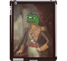 Royalty Face Swap - personalize with any picture of your choice! iPad Case/Skin