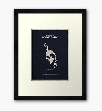 Donnie Darko Framed Print
