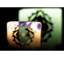Shadows of a Snowflake Photographic Print