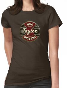 USA Taylor Guitars  Womens Fitted T-Shirt