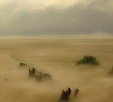 OLD PIER Gulf Shores by Kenneth Purdom