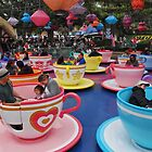 Disney Land Tea Cup ride by iansimages
