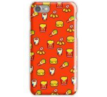 McDonald's Pixel Art Pattern iPhone Case/Skin