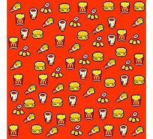 McDonald's Pixel Art Pattern Photographic Print