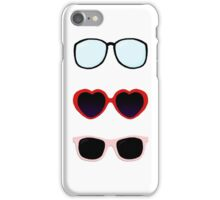 Taylor Swift Glasses Graphic iPhone Case/Skin