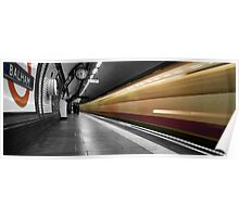 Balham station, London Underground Poster