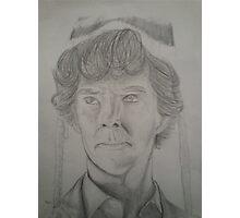Sherlock Holmes the Beanie Detective Photographic Print