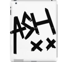Ash xx iPad Case/Skin