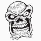 Skull Head slobber by eyespyeye