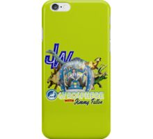 JW Gyrosphere w Jimmy + dilopho spit iPhone Case/Skin