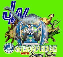 JW Gyrosphere w Jimmy + dilopho spit by Robiberg