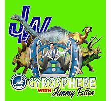 JW Gyrosphere w Jimmy + dilopho spit Photographic Print