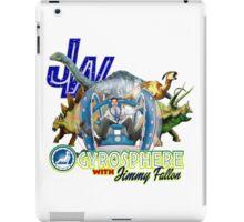 JW Gyrosphere w Jimmy + dilopho spit iPad Case/Skin