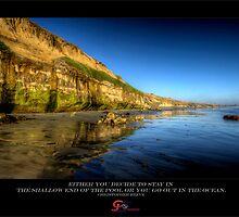 A Southern California Coast Line by capturedjourney