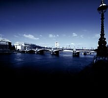 Lambeth Bridge, London by Claire Haslope