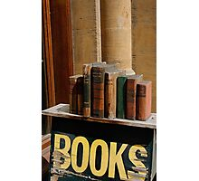 Old bookstore, Oxford, England Photographic Print