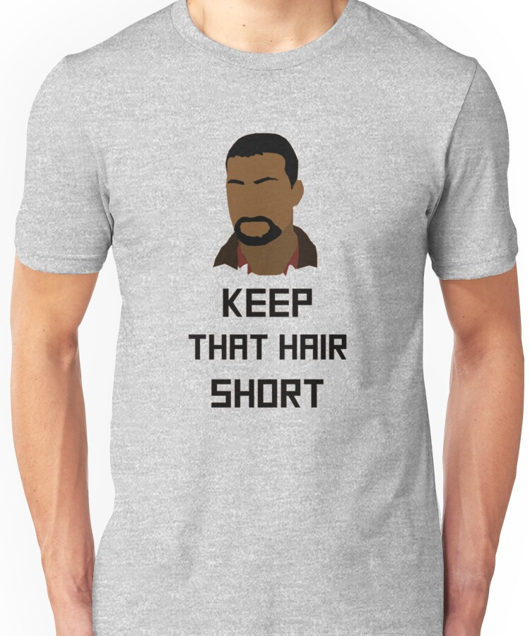 "The Walking Dead Game - ""Keep that hair short"" - Lee Everett Unisex T-Shirt"