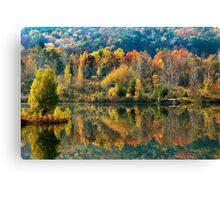 Fall Kaleidoscope Landscape Canvas Print