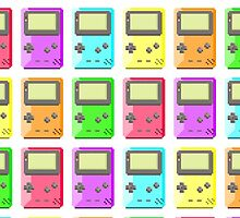 Game Boy Color Pixel Art by InvalidDomain