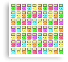 Game Boy Color Pixel Art Canvas Print