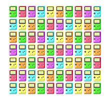 Game Boy Color Pixel Art Photographic Print