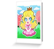 Print: Princess Peach Greeting Card