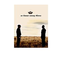 Breaking Bad - Walter and Gus Photographic Print